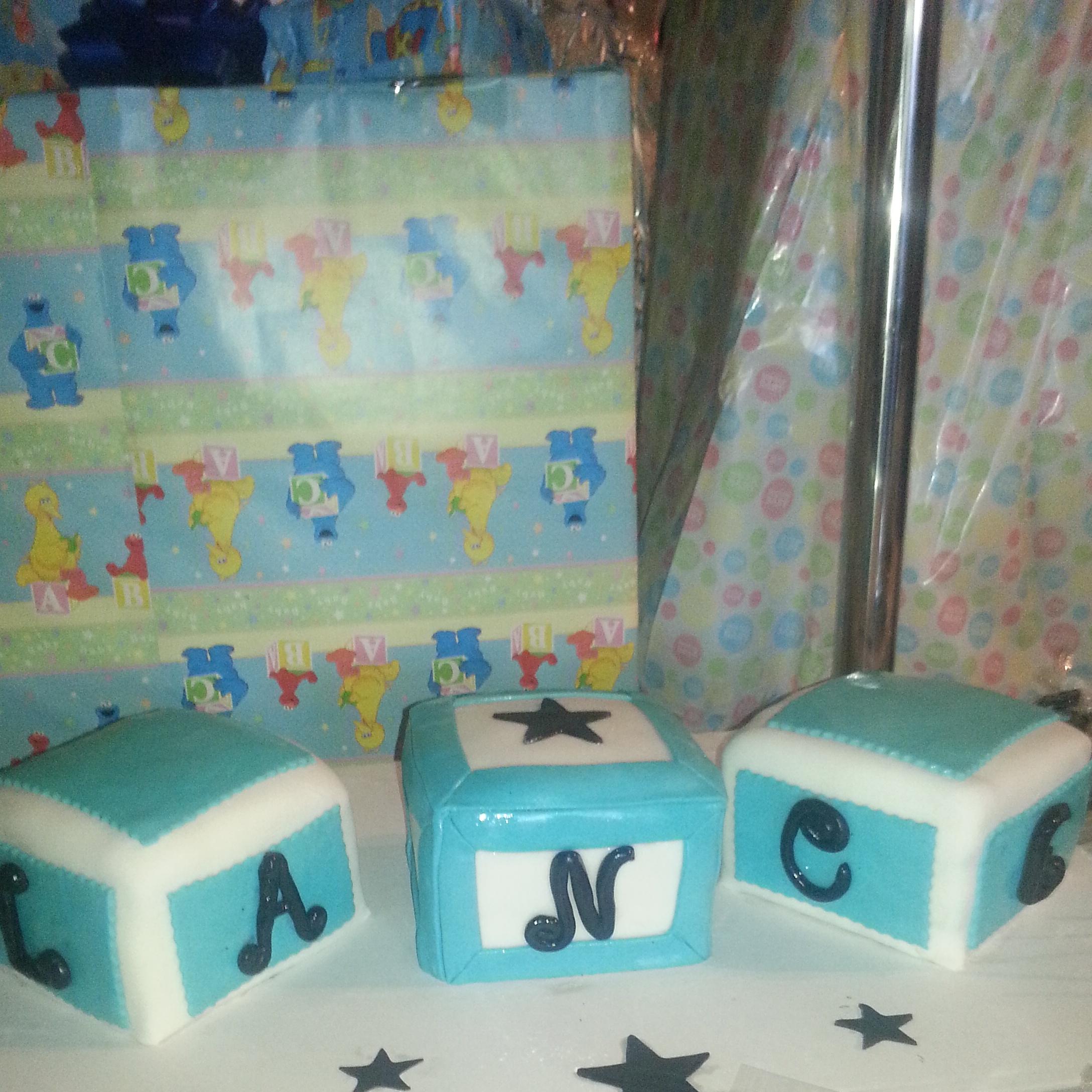 name blocks baby shower cake sydneys sweets